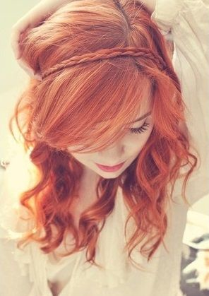 Cool Long Red Homecoming Hairstyle - Homecoming Hairstyles 2014