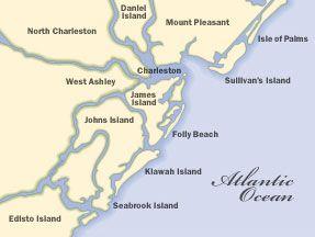 understanding all of charleston surrounding areas maps