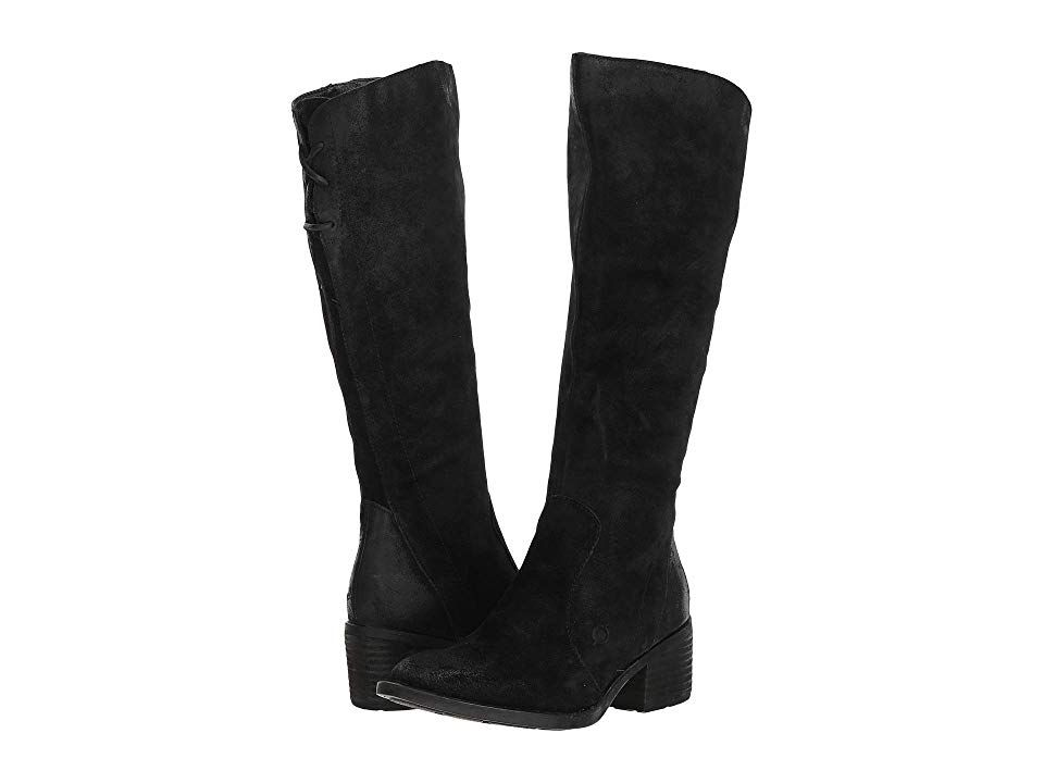 188efdb3f6ff Born Felicia (Black Distressed) Women s Pull-on Boots. Boost your style in