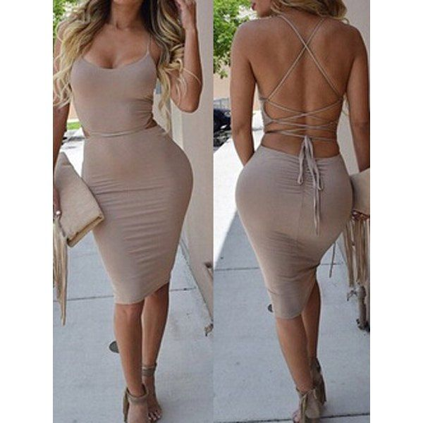 Solid colors body con dresses