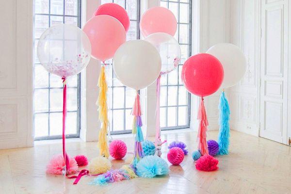 Как украсить комнату ко дню рождения своими руками ...