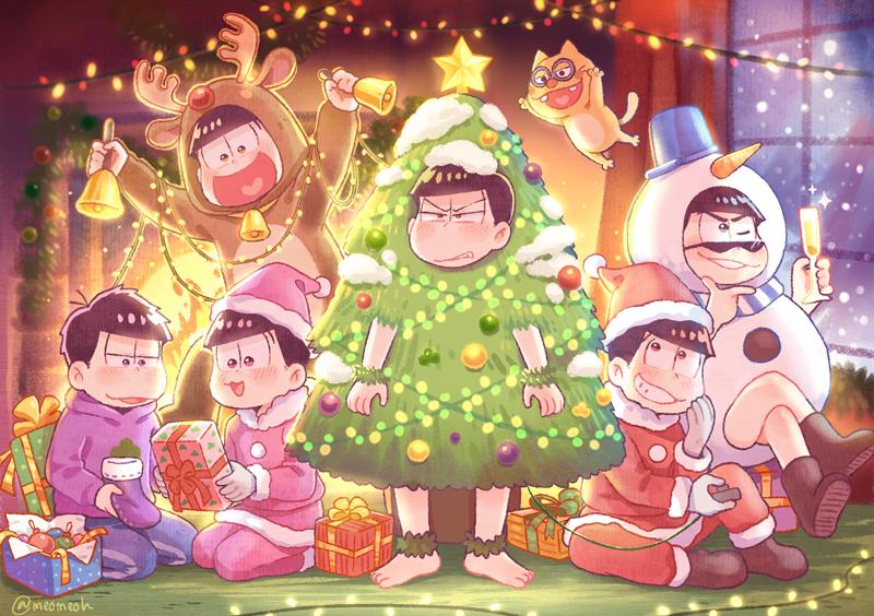 Santas/Karamatsu,Choromatsu, Todomatsu,Osomatsu, Ichimatsu ...
