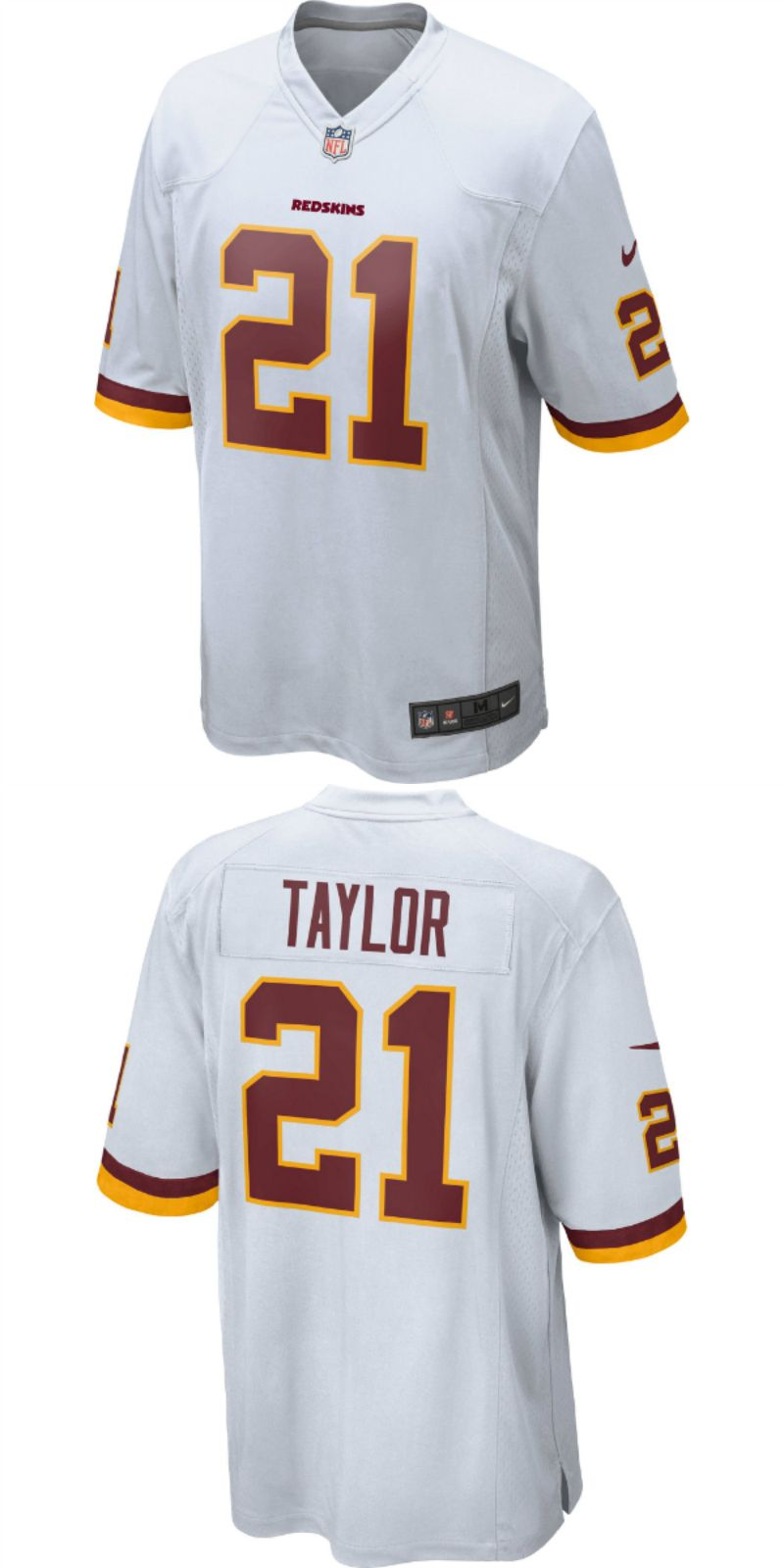 detailed look d5641 1339a UP TO 70% OFF. Sean Taylor Washington Redskins Nike Retired ...