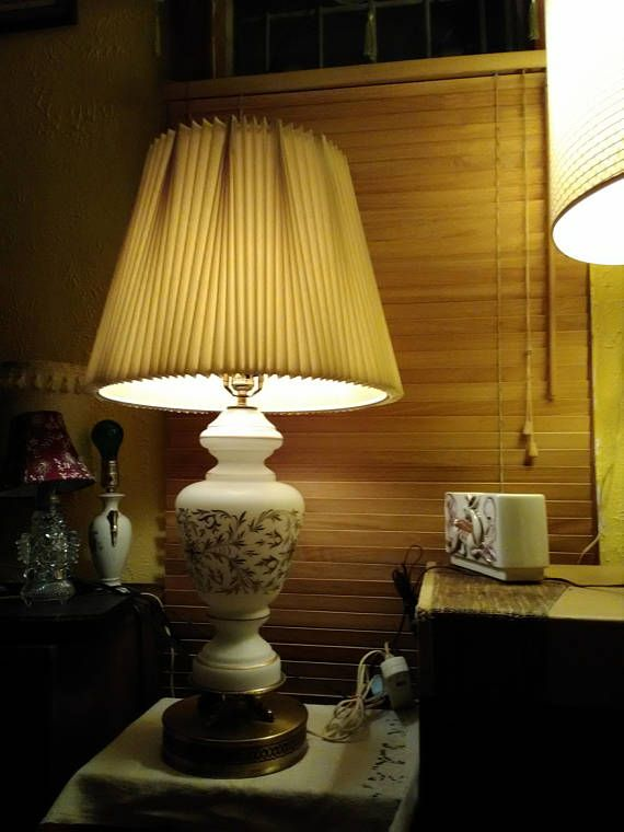Stiffel Three Way Table Lamp White Glass Brass In 2018 Products
