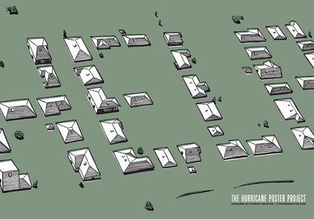 Matt Thomas, Fathom Creative, 2005, The Hurricane Poster Project