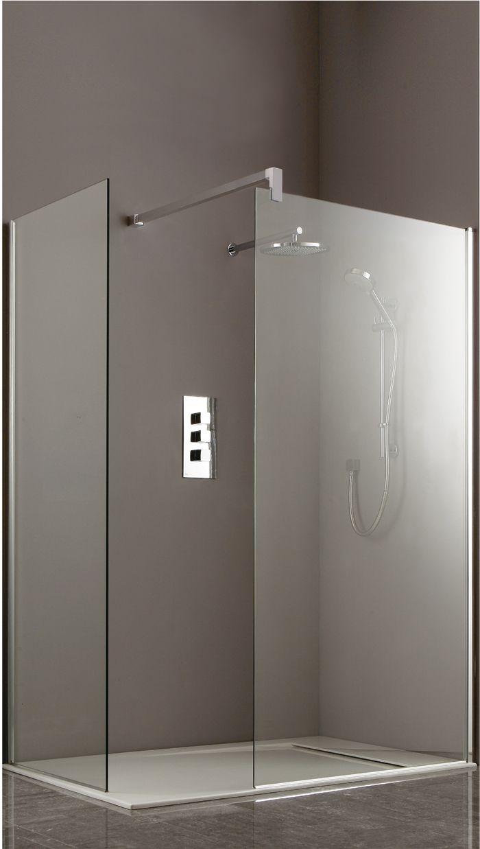 400mm Shower Side Panel Chrome | Shower Panels | Heritage | Dream ...
