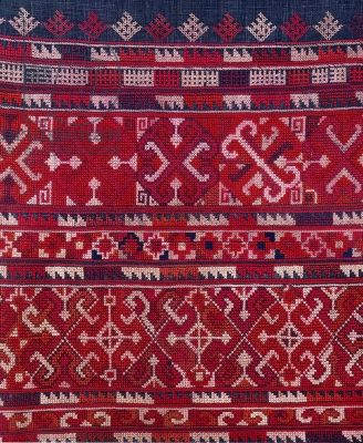 Yao tribe fabric, northern Thailand (textile)