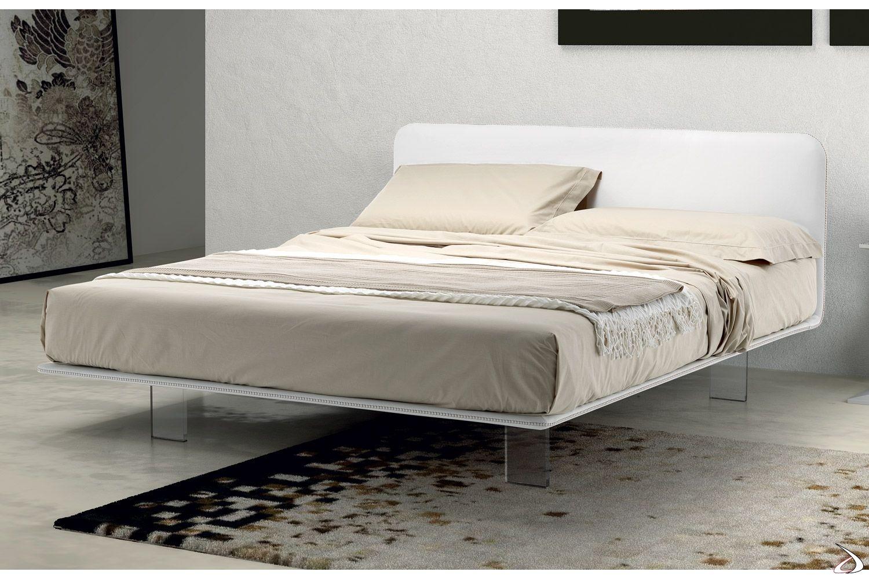 Photo of Letto con piedini alti in plexiglass Scillint | TopArredi – Arredo Design Online