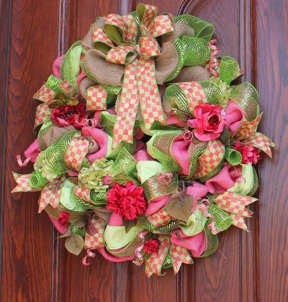 Mackenzie child's summer/spring wreath