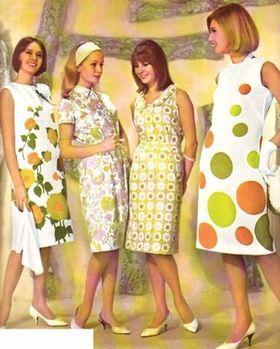 カラフル☆60年代のレトロ可愛いファッション , NAVER まとめ