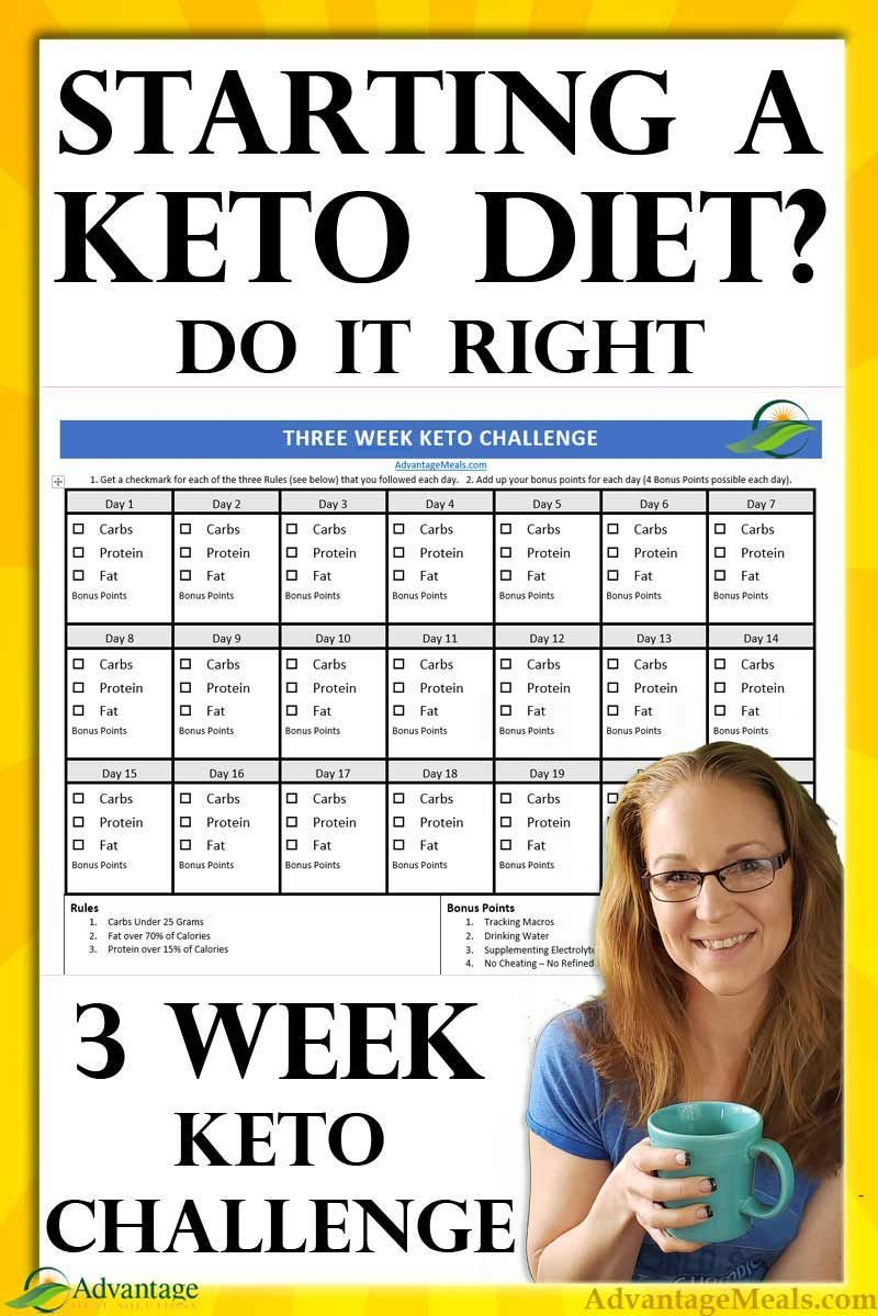 Three Week Keto Challenge