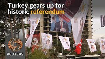 Turkey's Erdogan faces big test in divisive referendum