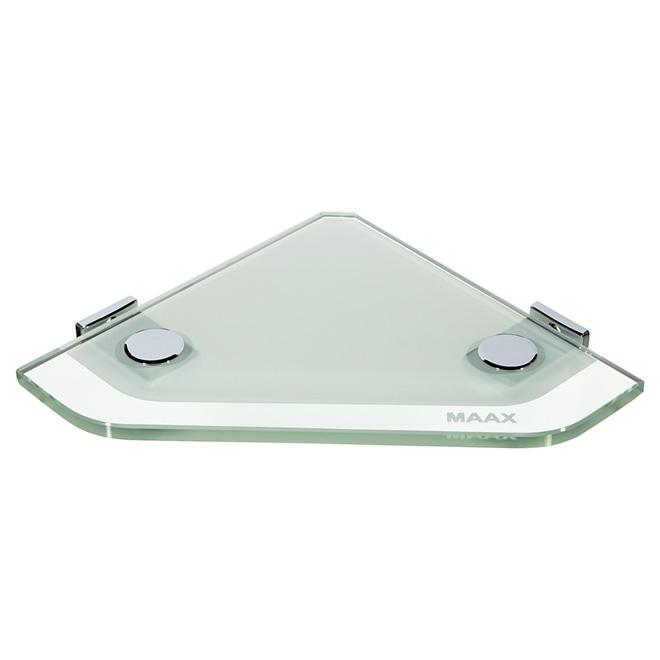 Maax Corner Glass Shelf For Shower 10060311 Rona Shower Shelves Shower Corner Shelf Glass Shelves