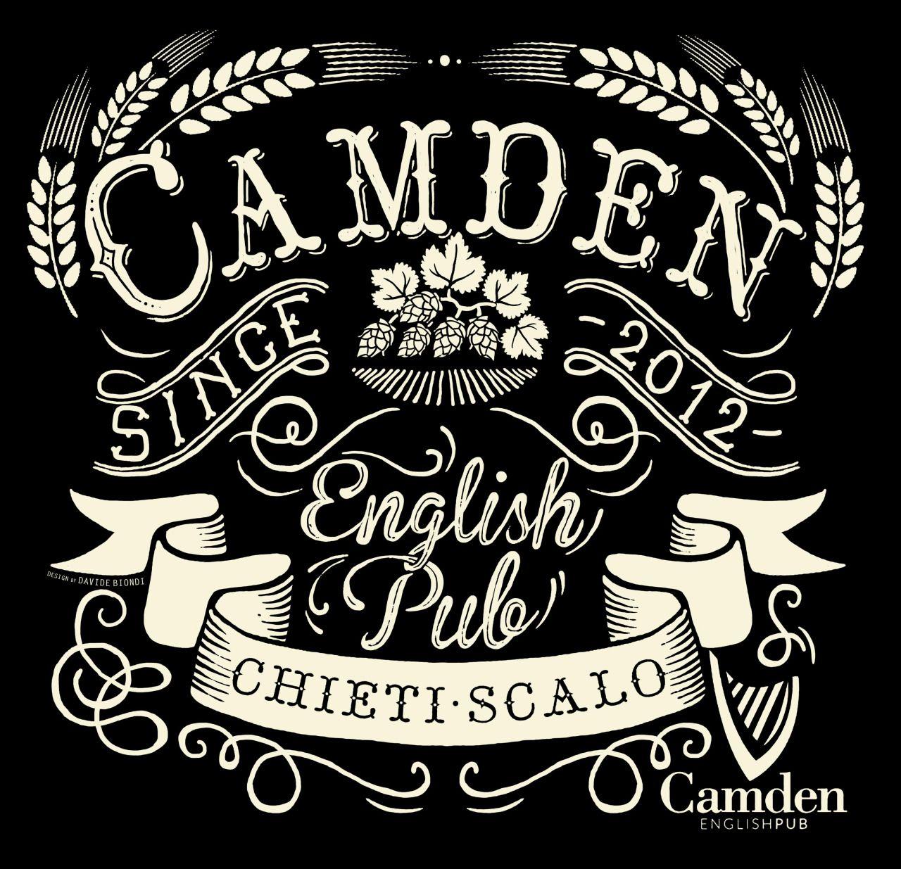 Pin do a smallblackroom em vintage typography branding for Arredamento pub inglese
