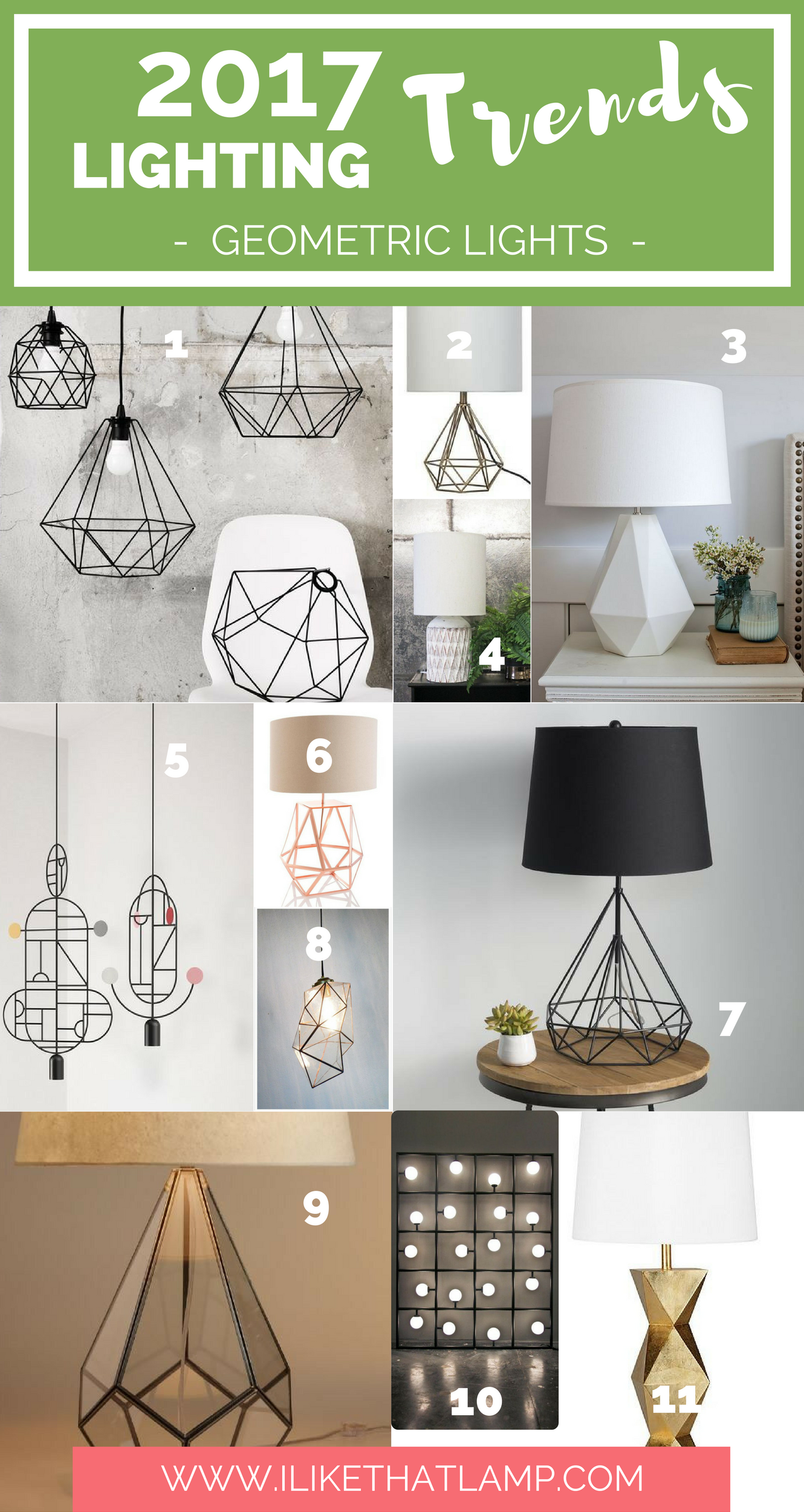 The 2017 lighting trends diy crafters will love read all at www ilikethatlamp com