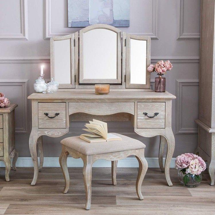Marseille Oak Furniture Dressing Table In 2020 Furniture