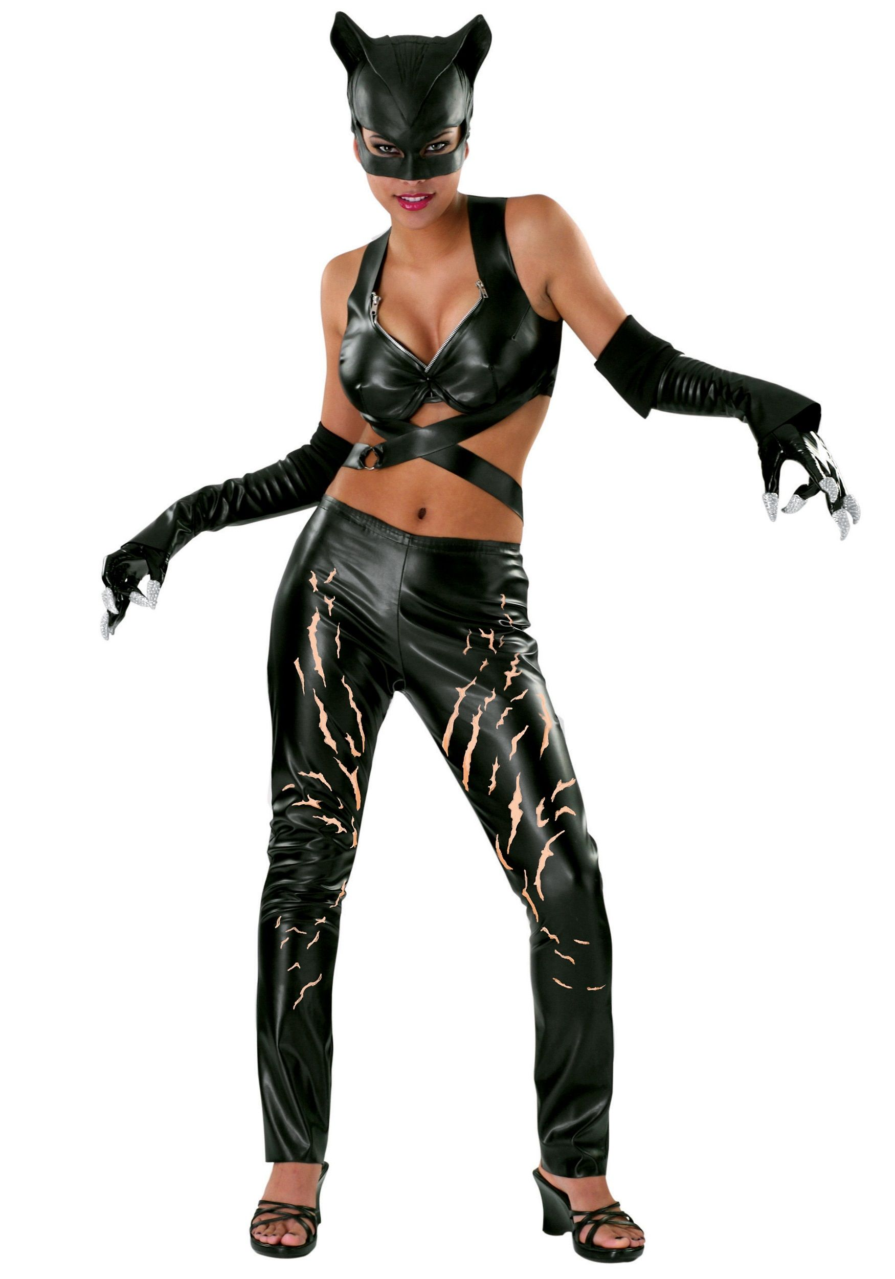 8c061ee45 Adult Catwoman Costume | Maureen | Disfraces para adultos, Catwoman ...