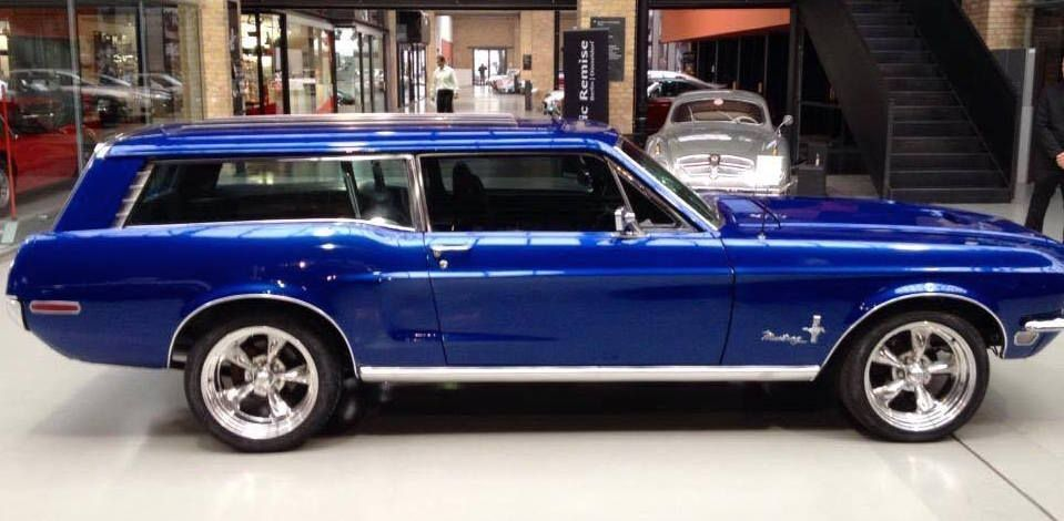 Mustang Sport Wagon >> Custom 1968 Mustang Sport Wagon For Your Family For The Love Of