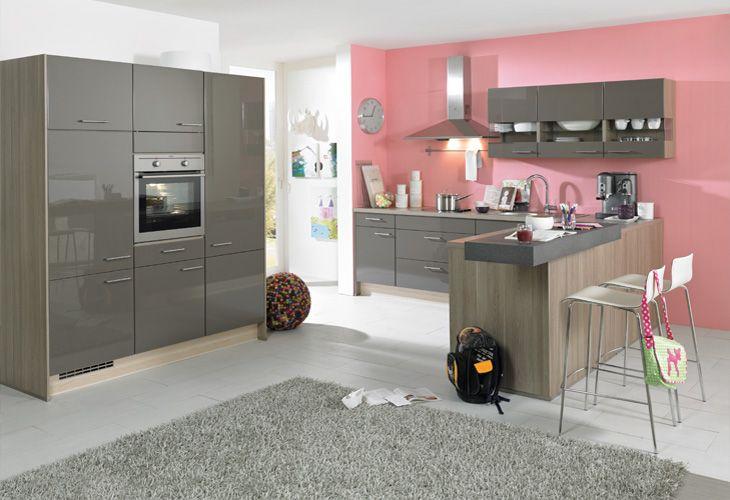 Kücheninsel Grau ~ #küche in grau #kücheninsel www dyk360 kuechen de graue küchen pinterest graue kücheninsel