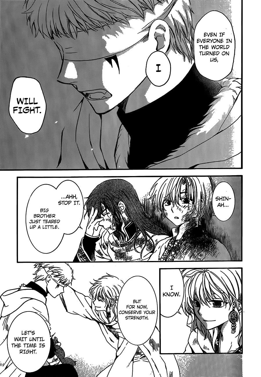 Read manga Akatsuki no Yona Chapter 134 online in high quality