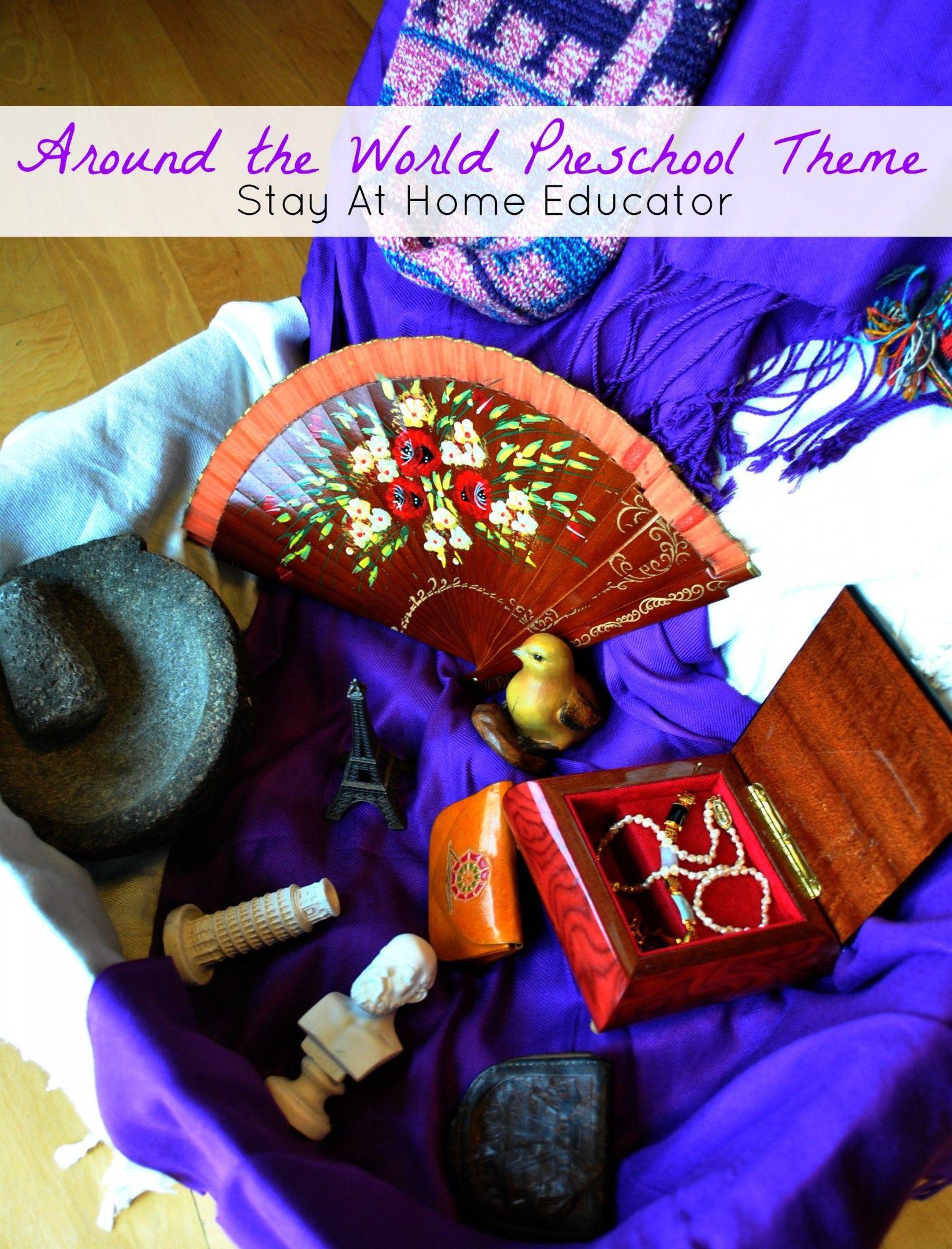 Around The World Suitcase Activity