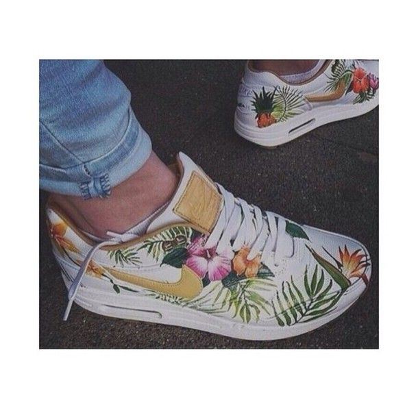Max Chaussures Air Tropical Blanc Nike Imprimé Tropical