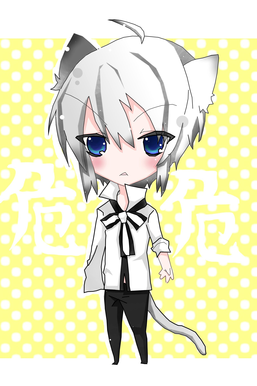 Chibi Neko Art Blasting Art Chibi, Chibi boy, Anime