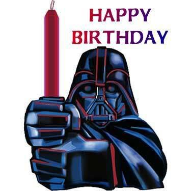 Happy Birthday Star Wars Cumpleanos Friki Feliz Cumpleanos