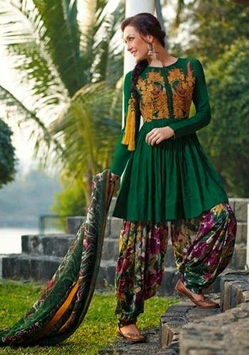 Punjabi Suits Collection 2014-2015 | Designer Cultural Dresses of ...