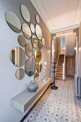 Nieuw Idee hal #spiegels | Interieur, Ideeën voor thuisdecoratie, Home deco HQ-91