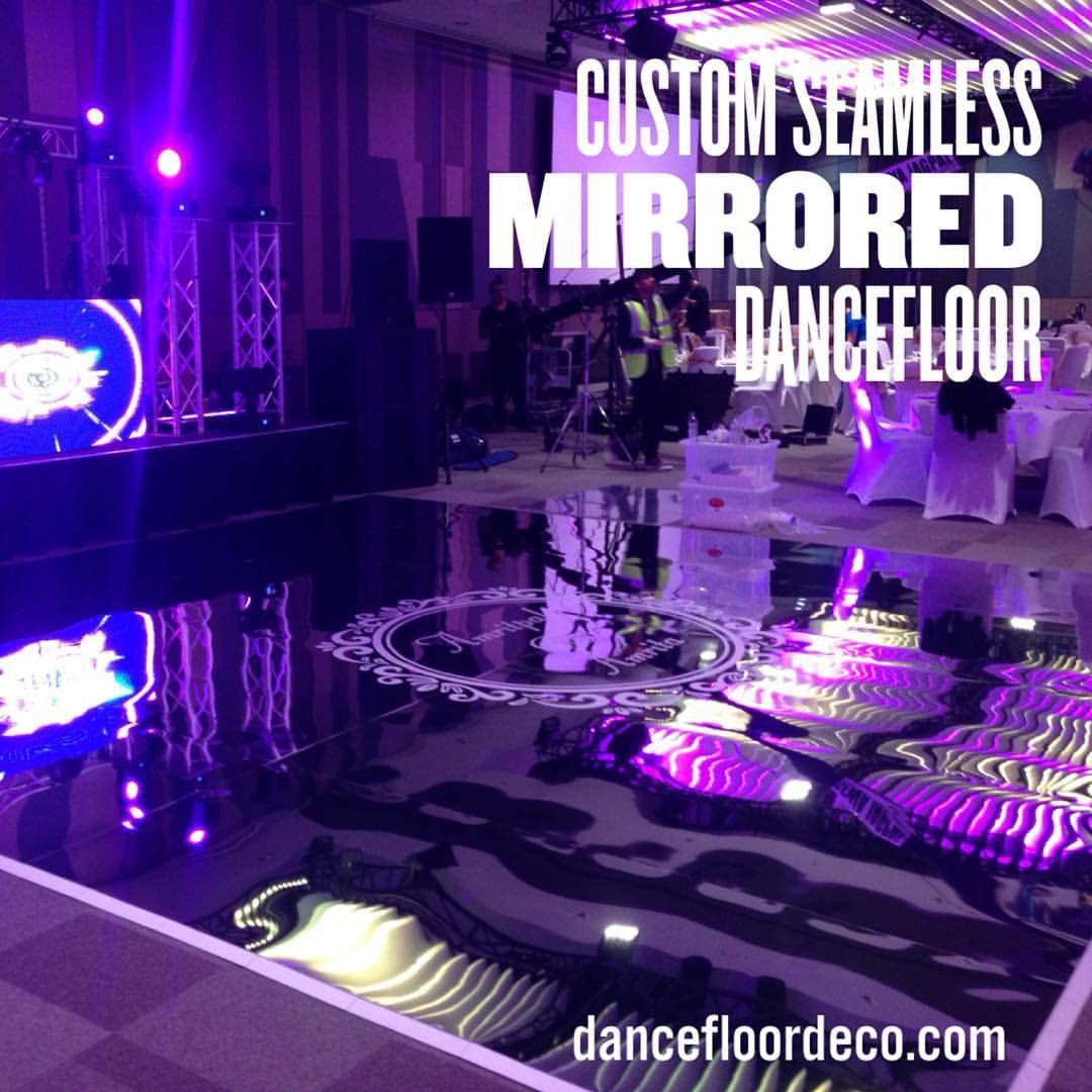 """Dancefloor Deco on Instagram: """"Custom Seamless Mirrored Dancefloor ..."""
