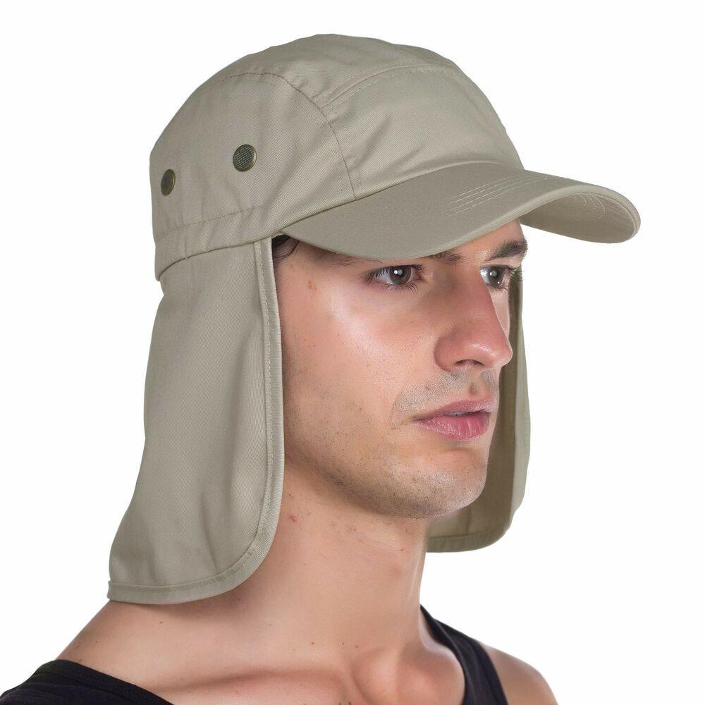 Top Level Fishing Sun Cap Uv Protection Ear And Neck Flap Hat Sand Toplevel Flap Hat Sun Cap Hats
