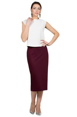 8021f63d28d Faldas Elegantes para Oficina | Faldas en 2019 | Faldas elegantes ...