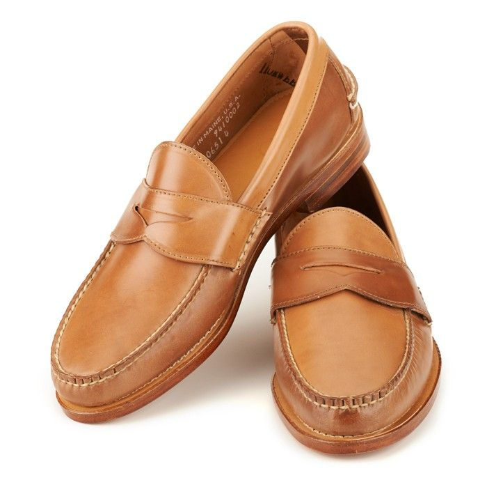 Shell Cordovan Pinch Penny Loafers
