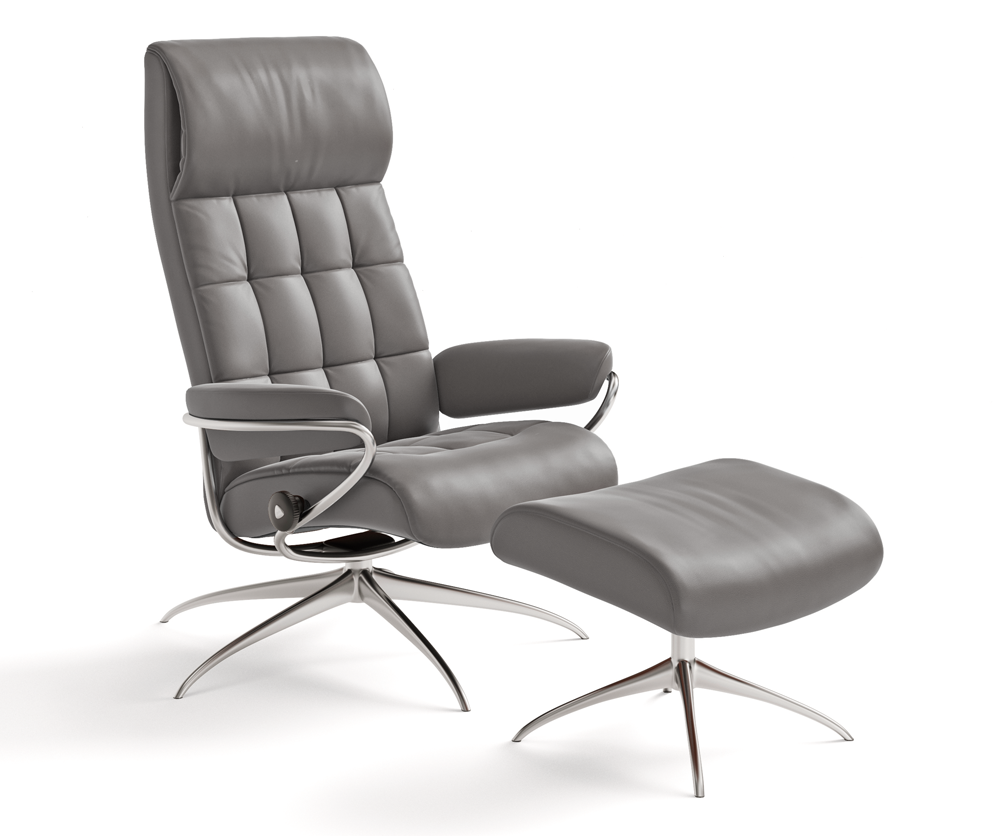 Stressless You Sessel London High Back Chair And Ottoman In 2019 Stressless Furniture