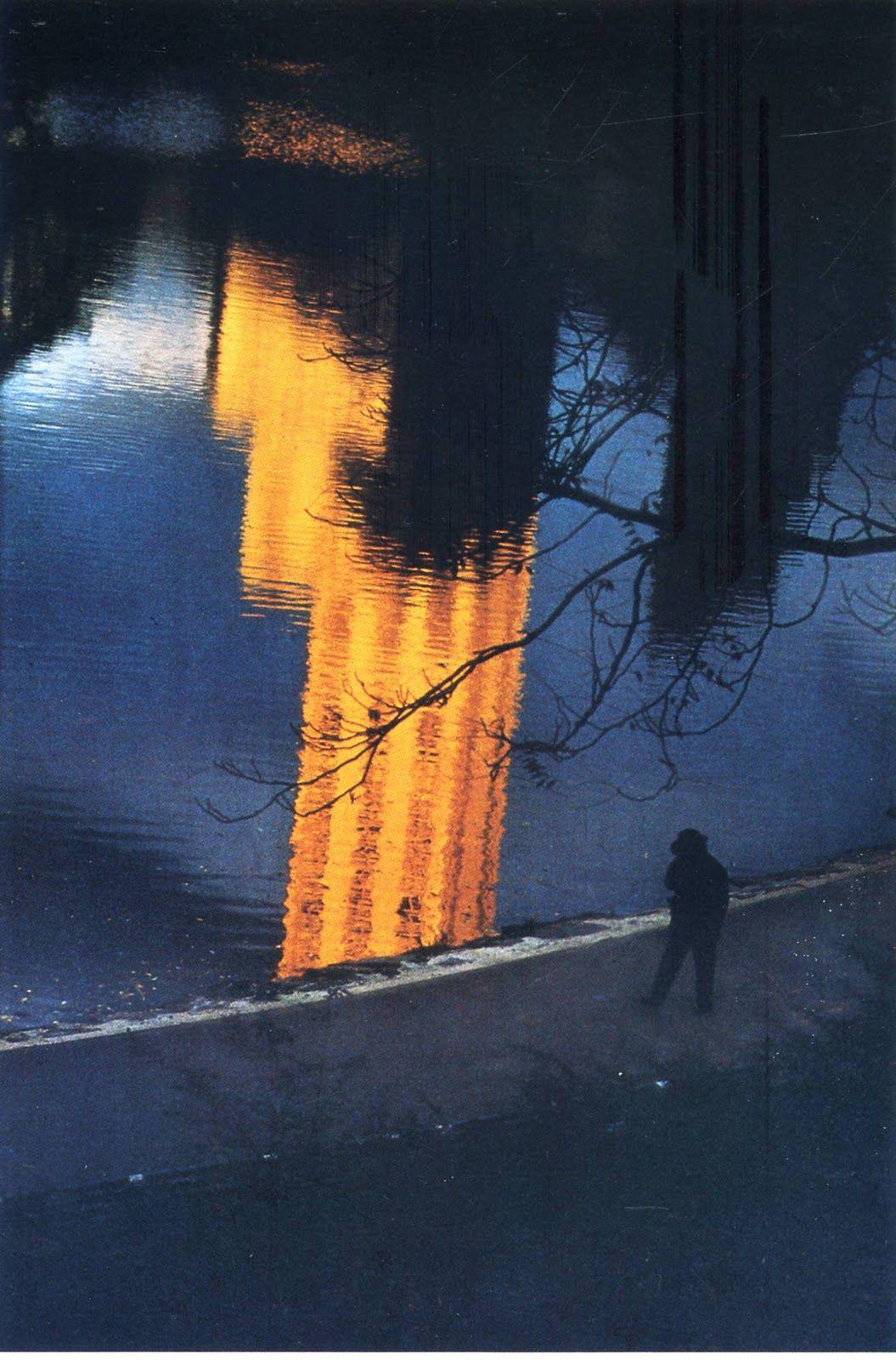 Composição: perspetiva e linhas - Ernst Haas - New York