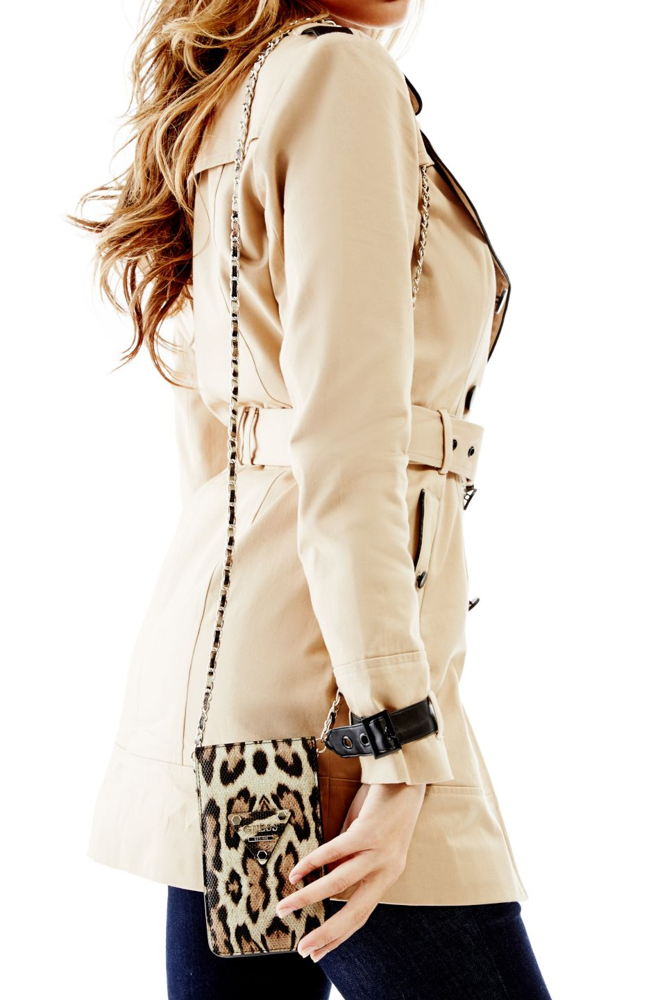 For the Muse: Chit Chat Leopard-Print Cross-Body | GUESS.com #GUESSHoliday