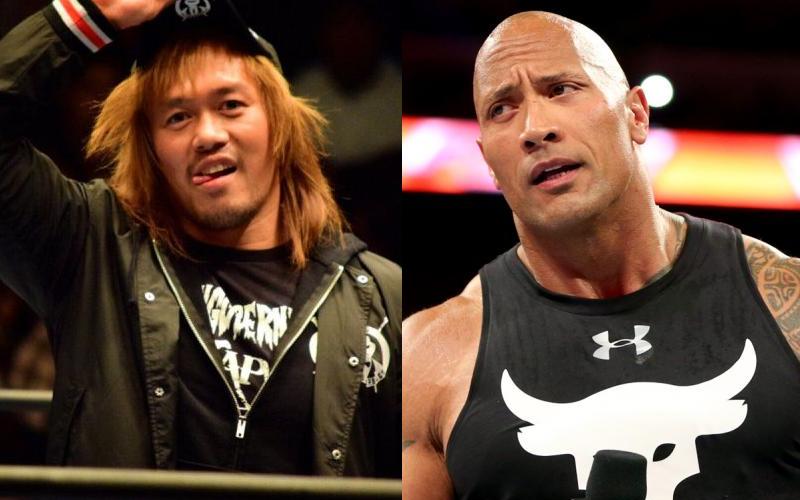 Chris Jericho Compares Tetsuya Naito To The Rock Chris Jericho Jericho The Rock