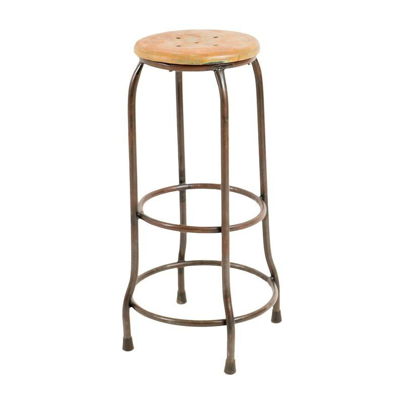 Cool Mclaughlin Bar Stool At Found Vintage Rentals Metal Inzonedesignstudio Interior Chair Design Inzonedesignstudiocom