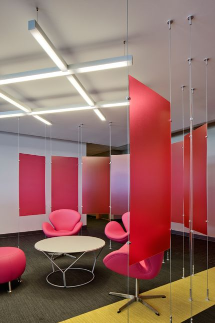 Informal Seating Area: Foushee Technology Construction And Renovation For T  Mobile 2 Newport