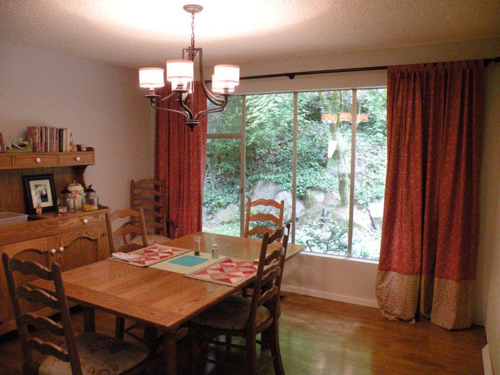 Informal Dining Room Curtain Ideas