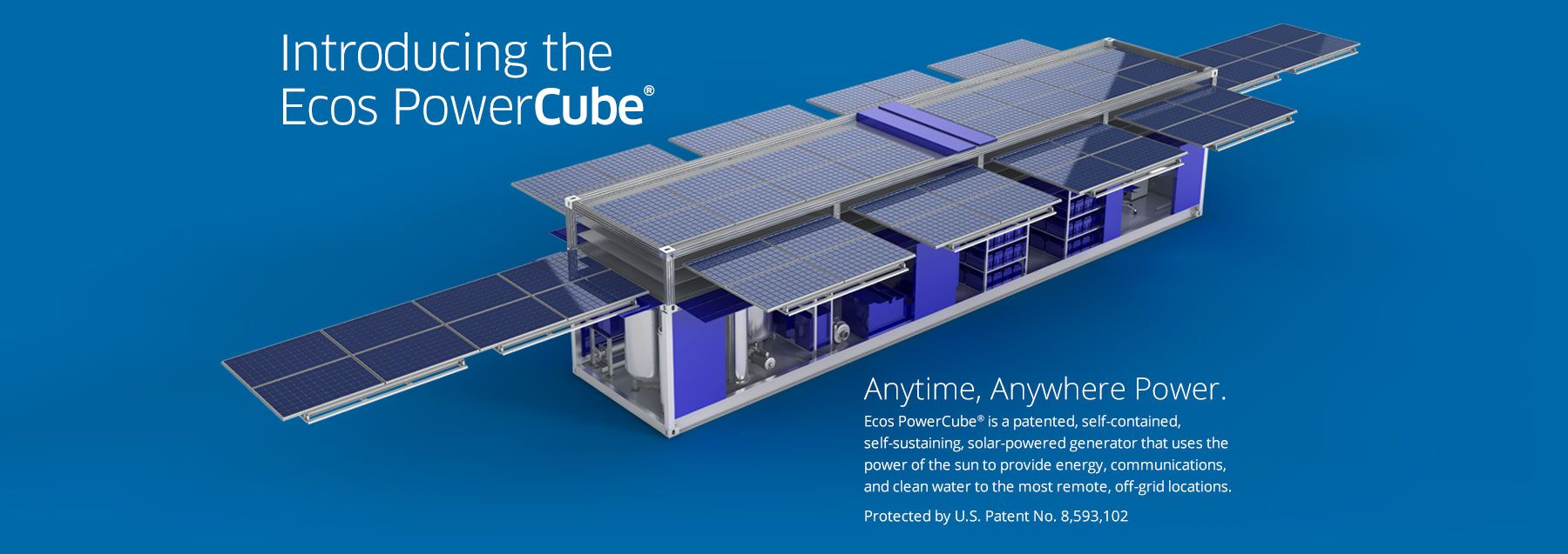 Amazing Shipping Container Transforms Into 15 000 Watt Pop Up Solar Power Station With Wifi Solar Powered Generator Solar Power Station Solar Energy Diy
