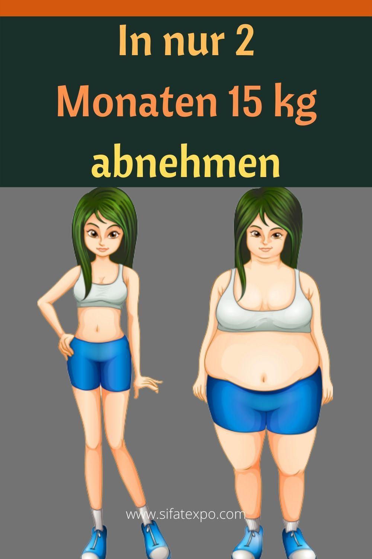 Rezept, um in 2 Monaten Gewicht zu verlieren