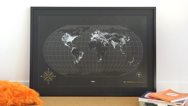 The world at night poster shoprealmart glow in dark very the world at night poster shoprealmart glow in dark very cool gumiabroncs Gallery