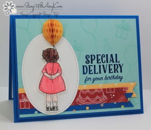 Stampin Up Birthday Cards for the Stamp To Share International – International Birthday Cards