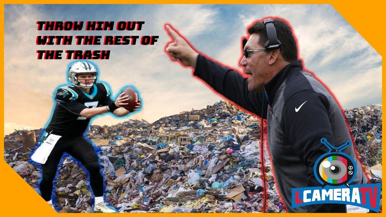 Carolina Panthers Get Destroyed By Atlanta Falcons Should Panthers Sign Carolina Panthers Atlanta Falcons Panthers