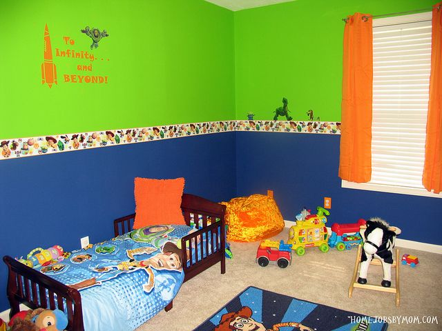 Toy Story Room Decor And Paint Ideas