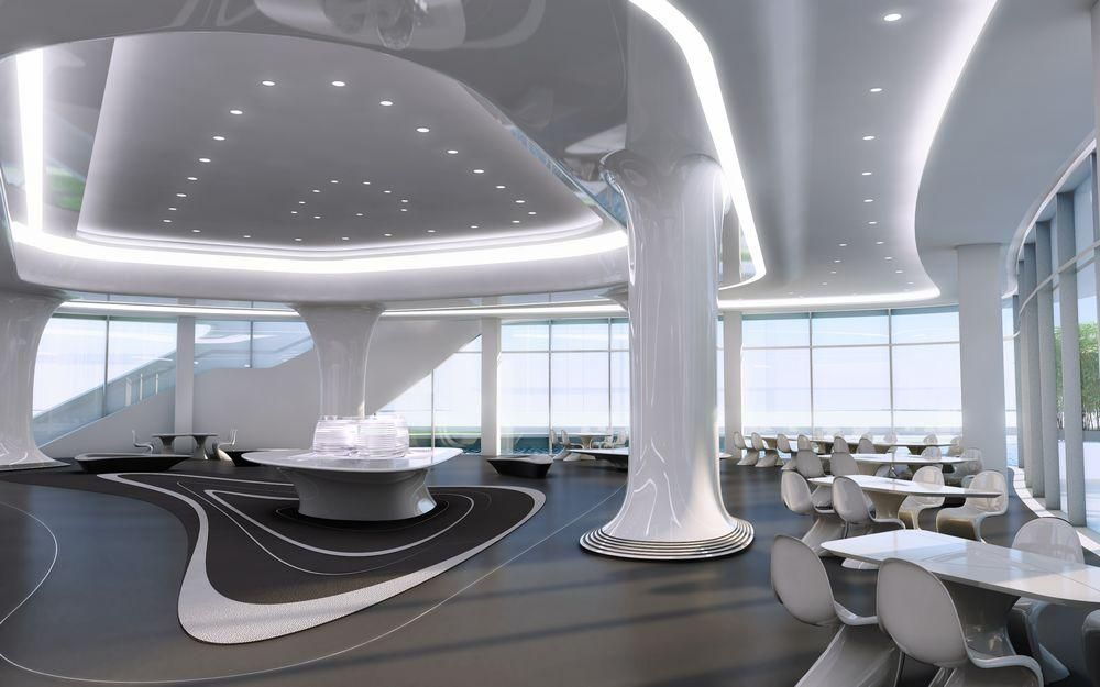 zaha hadid office interiors - Google\'da Ara | Architecture ...
