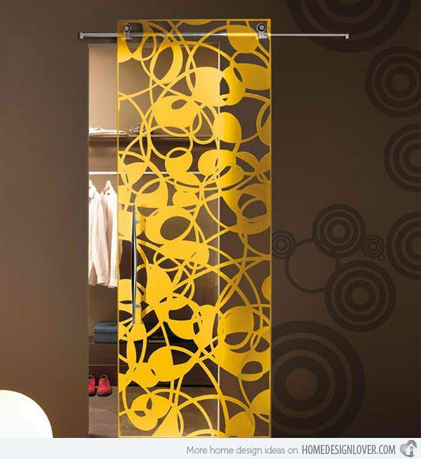 15 Modern Interior Glass Door Designs for Inspiration | Glass door ...