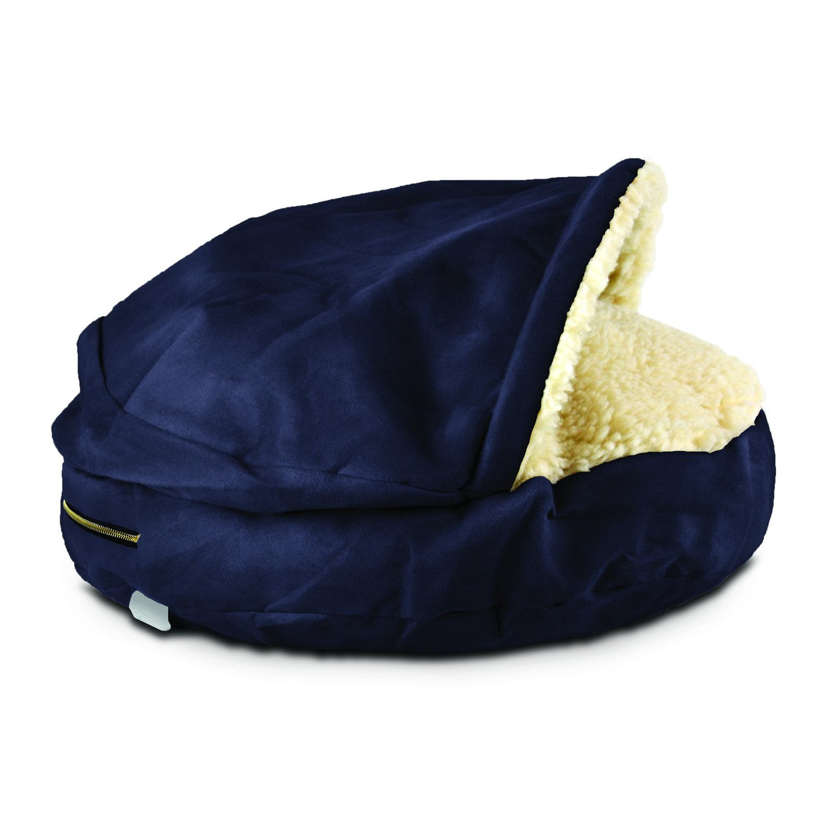 Snoozer Cozy Dog Cave Navy Products in 2019 Pet beds